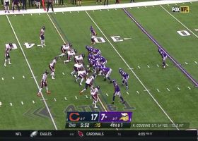 Bears defense STUFFS Dalvin Cook on fourth-and-short stop