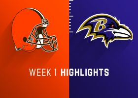 Browns vs. Ravens highlights | Week 1