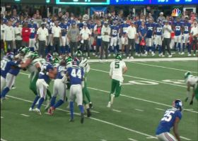 Denzel Mims makes host of Giants miss on elusive 20-yard gain