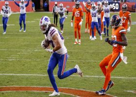 Allen dissects DBs with LASER TD to Kumerow on WR's first Bills catch