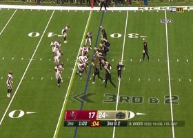 Lavonte David can't be contained on HUGE third-down TFL of Hill