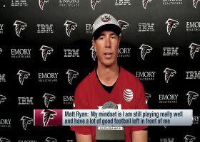 Matt Ryan on his mindset entering Year 14, Julio Jones rumors