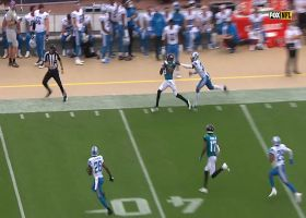 Gardner Minshew floats up a dime for 35-yard completion to Keelan Cole