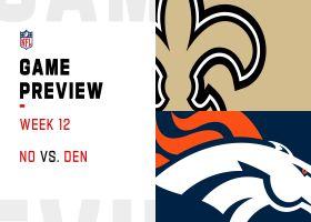 Saints vs. Broncos preview | Week 12