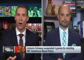 Mike Garafolo explains how Antonio Callaway's suspension affects his future with Browns