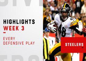 Every big Steelers defensive play | Week 3
