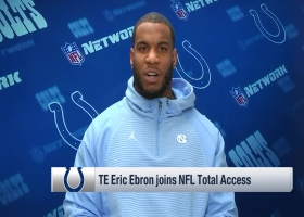 Eric Ebron compares '18 Colts with quarterback Andrew Luck to '19 Colts with QB Jacoby Brissett