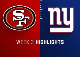 49ers vs. Giants highlights | Week 3