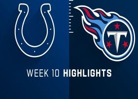 Colts vs. Titans highlights | Week 10