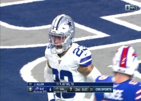 Cole world! Beasley torches former team for 25-yard TD grab