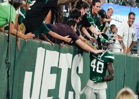 Kenny Yeboah raises stock with James Morgan's 21-yard TD investment