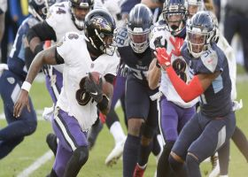 Baldy's Breakdowns: Ravens offense keeps Tennessee guessing