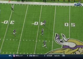 Harrison Smith dives to intercept Glennon in overtime