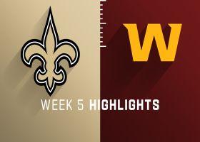 Saints vs. Washington highlights | Week 5