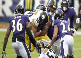James Conner bruises Ravens on strong TD