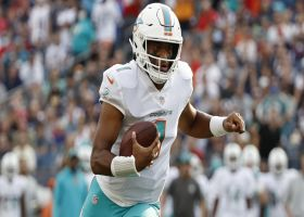 Tagovailoa takes it in himself for TD to cap Fins' first drive