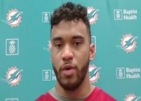 Tua Tagovailoa reacts to 5-INT outing at Tuesday's practice