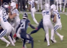 Clowney leads Titans' charge on Butler's fourth-down TFL