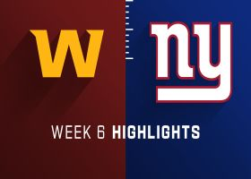 Washington vs. Giants highlights | Week 6
