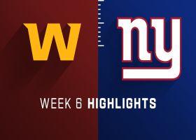Washington vs. Giants highlights | Week 6