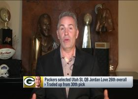 Warner: How Love's game is 'very similar' to Rodgers