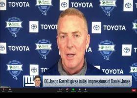 Jason Garrett: What 'really jumps out' about Daniel Jones so far