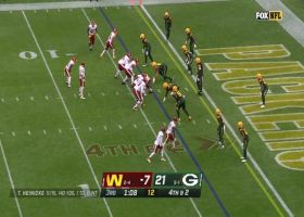 Adrian Amos' blanket coverage gives Packers back-to-back red zone stops