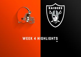 Browns vs. Raiders highlights | Week 4