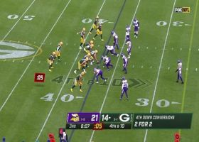 Vikings neutralize Rodgers' launch codes on fourth-and-10
