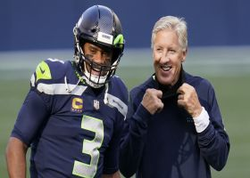 'GMFB' reacts to Pete Carroll saying Russell Wilson, Seahawks drama is 'really old news'