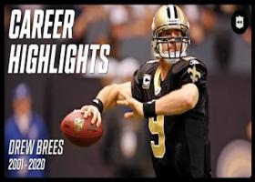 Drew Brees career highlights | NFL Legends