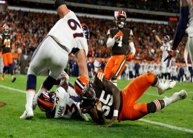 Javonte Williams caps Broncos' methodical 17-play drive with screen-pass TD