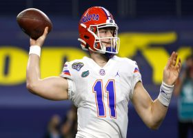 Buccaneers select Kyle Trask with the No. 64 pick in 2021 draft
