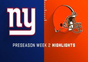 Giants vs. Browns highlights | Preseason Week 2