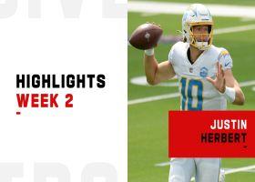 Justin Herbert's best plays from first NFL start | Week 2