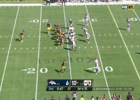 JuJu Smith-Schuster leaves game after apparent injury