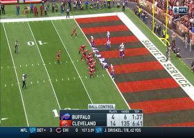 Bills' D completes EPIC eight-play goal-line stand at the 1-yard line