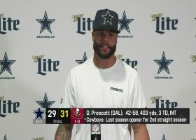 Dak Prescott reflects on his first game back since 2020 injury
