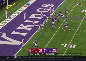 Thielen scores league-leading seventh TD reception
