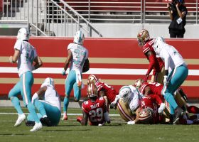Dolphins' OL paves the way for Myles Gaskin's walk-in TD