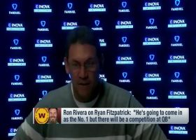 Rivera on Fitzpatrick: He'll come in as QB1, but there will be a competition
