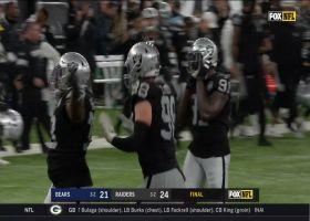 Raiders clinch win vs. Bears with Maurice Hurst SACK