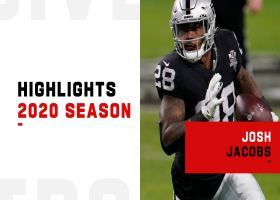 Josh Jacobs highlights | 2020 season