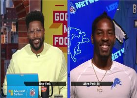 Tracy Walker on Goff: 'He's very vocal, he's willing to take criticism'