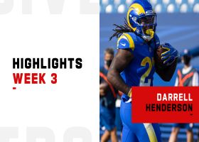 Darrell Henderson's biggest plays from 114-yard game | Week 3