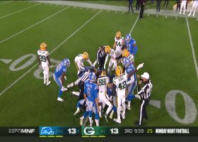 Packers flub punt return, turn ball over to Lions at 25-yard line