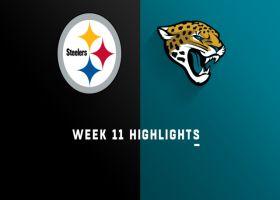 Steelers vs. Jaguars highlights | Week 11
