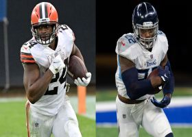 Next Gen Stats: What makes Browns-Titans Week 13 matchup special