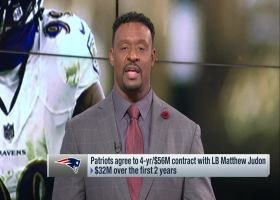 Willie McGinest reacts to Patriots' 2021 free-agency moves