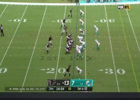 Kyle Pitts makes closely contested 26-yard grab vs. Eric Rowe